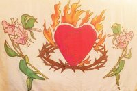 Beloved Heart a Flame