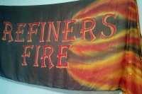 Refiner's Fire Silk Flag