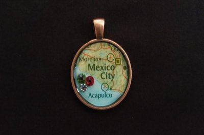 NECKLACE: Round - map